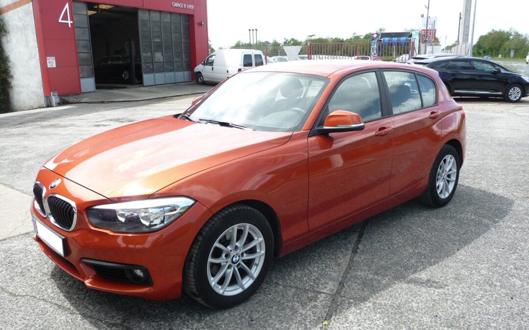 N°8863  BMW Série 1 F20 116D Business (BVA8) 5 Portes